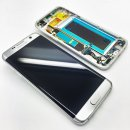 Original LCD Display in Silber für Samsung Galaxy S7...