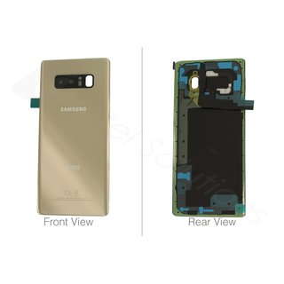 Samsung Galaxy Note 8 Akkudeckel Battery Cover Gold