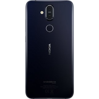 Nokia 8.1 Akkudeckel Battery Cover Blau