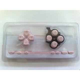 PSP Slim & Lite (2004) Tasten- - Button in pink & Porto