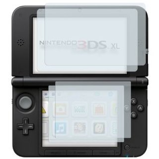 Hori Displayschutz Set / screen protector - kratzfest für Nintendo 3DS XL (DS)