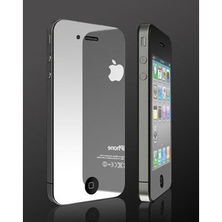 iPhone 4 / 4S Spiegel Schutzfolie & Reinigungstuch - Mirror Screen Protection