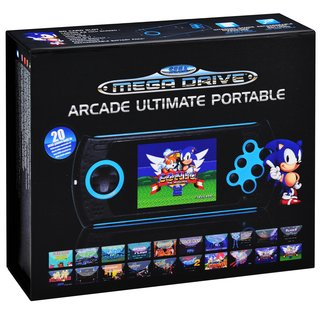 **NEW** Sega Mega Drive Arcade Ultimate Portable Konsole mit SD Kartenschacht
