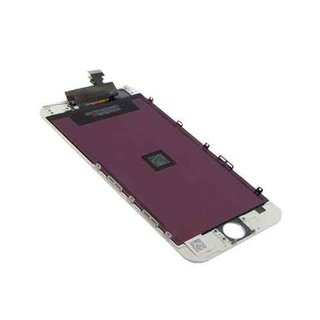 Apple iPhone 6 LCD Screen and Digitizer Assembly with Frame Replacement in white
