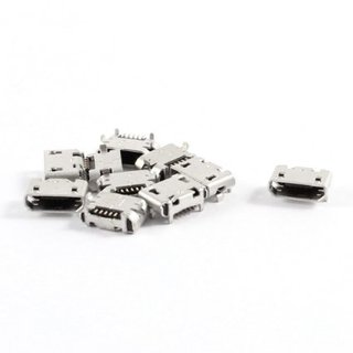 10 Stk. Micro USB 5pin B Type Female USB Ladebuchse