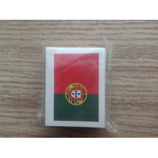 Portugal Fan Tattoo Fahne 2er Set