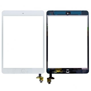 iPad Mini 2 Touch Screen (Digitizer & Glas) inkl. Home Button weiss