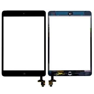 iPad Mini 2 Touch Screen (Digitizer & Glas) inkl. Home Button schwarz