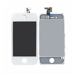 Apple iPhone 4S LCD Display Screen with Digitizer Touch Panel white