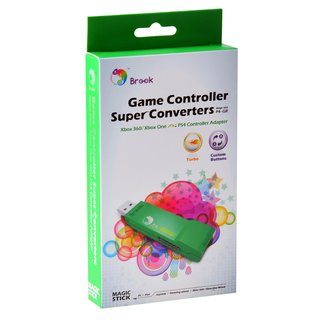 Brook XBOX 360 & XBOX One >> PS4 Gaming Super Converter Controller Adapter