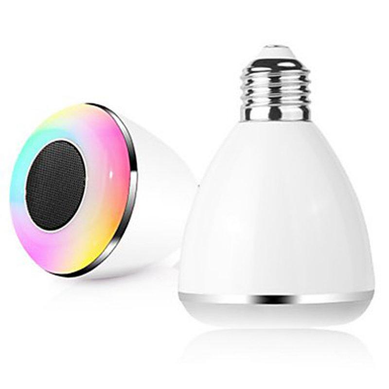 BL08A SMART BLUETOOTH 4 0 MUSIC SPEAKER APP-CONTROLLED LAMP LED BULB
