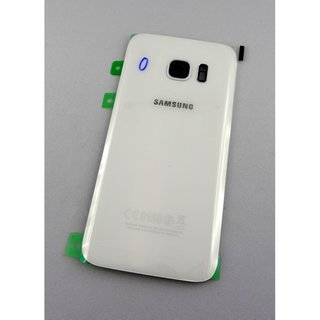 Samsung Galaxy S7 Edge Akkudeckel Battery Cover Weiss