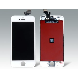 iPhone 5 LCD Display Touch Screen Digitizer Assembly Replacement white