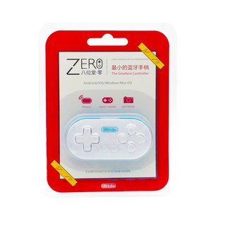 3 In1 Mini 8Bitdo Zero Wireless Bluetooth V2.1 Game Controller Joystick Gaming Gamepad Shutter For Android IOS Windows Mac OS