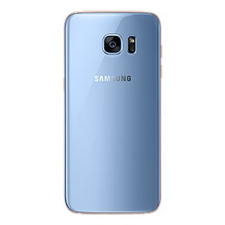 Samsung Galaxy S7 Edge Akkudeckel Battery Cover Blau