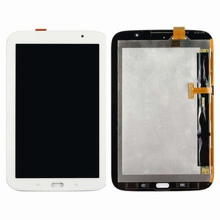 Samsung GT-N5110 Galaxy Note 8.0 WiFi - Komplett Front+Display LCD+Touchscreen Weiss