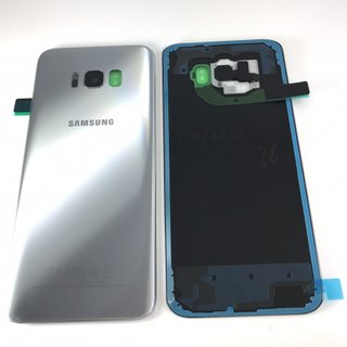Samsung Galaxy S8 Akkudeckel Battery Cover Silber