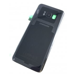 Samsung Galaxy S8 Akkudeckel Battery Cover Schwarz
