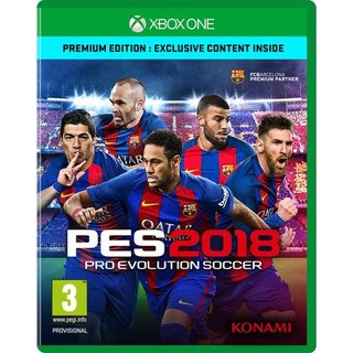 Konami PES 2018 - Pro Evolution Soccer 2018 Premium Edition [XBOX One] (Multilingual)